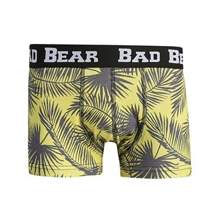 Bad Bear Palm Boxer LEMON