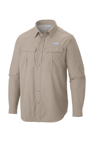 Columbia AM9154 Cascades Explorer Long Sleeve Erkek Gömlek Bej